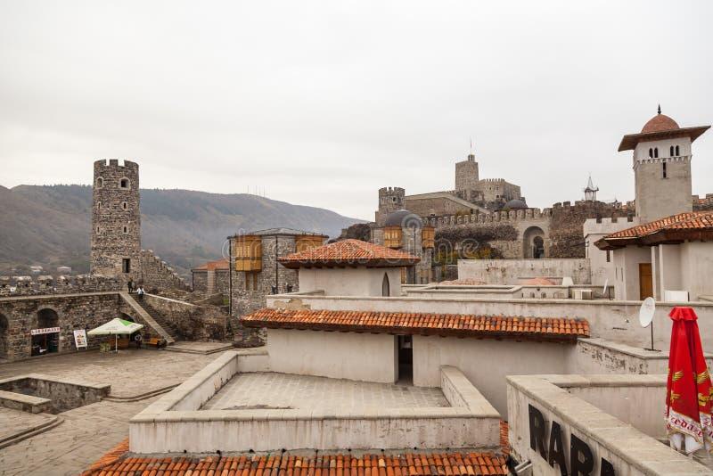 Rabati Castle in Akhaltsikhe, Georgia. stock images