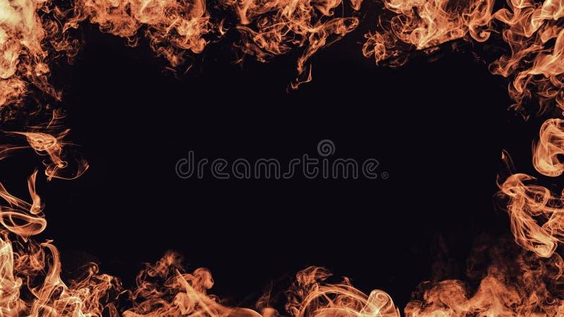 Rabatowa dymna tekstura elementy projektu podobieństwo ilustracyjny wektora Ramowe narzuty obraz royalty free