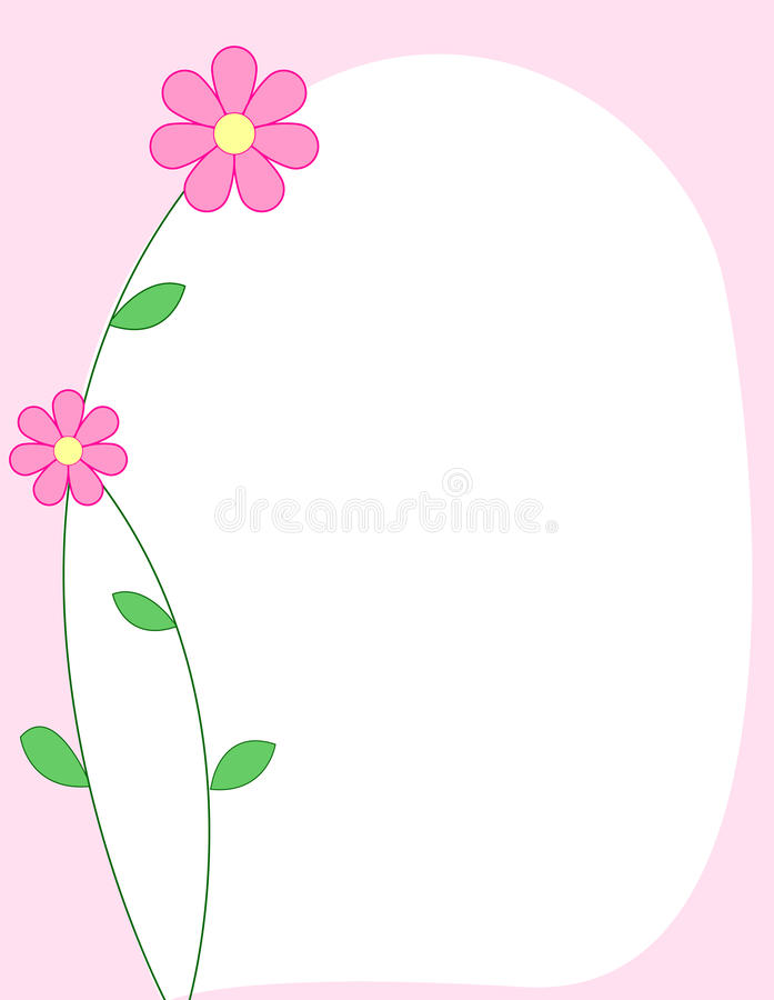 rabatowe kwieciste menchie ilustracji