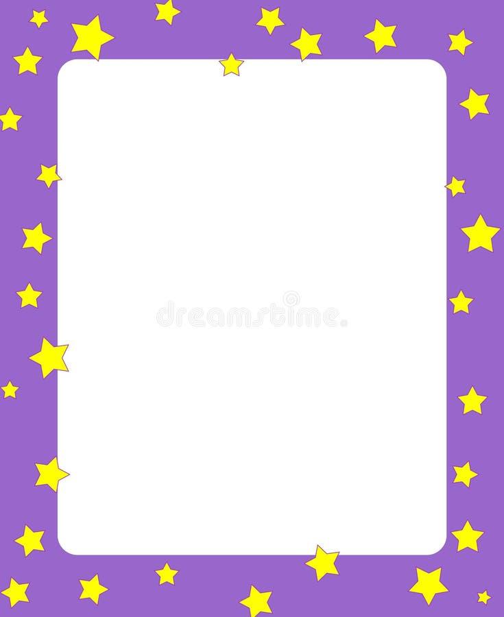 rabatowe ramowe gwiazdy royalty ilustracja