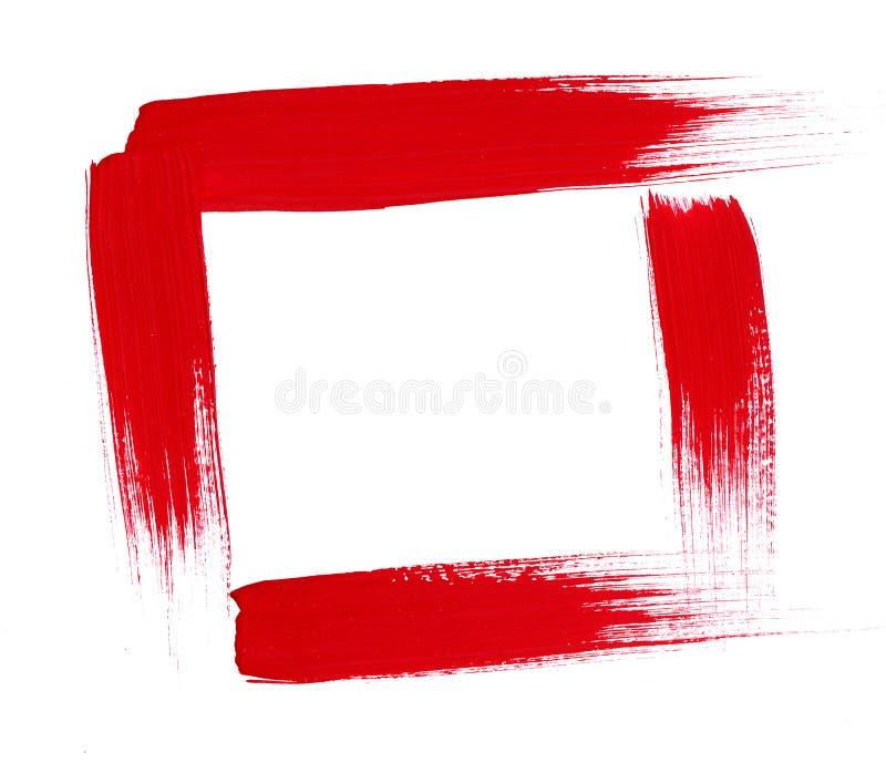 rabatowe ramowe linie malują szorstkie próbki obrazy royalty free