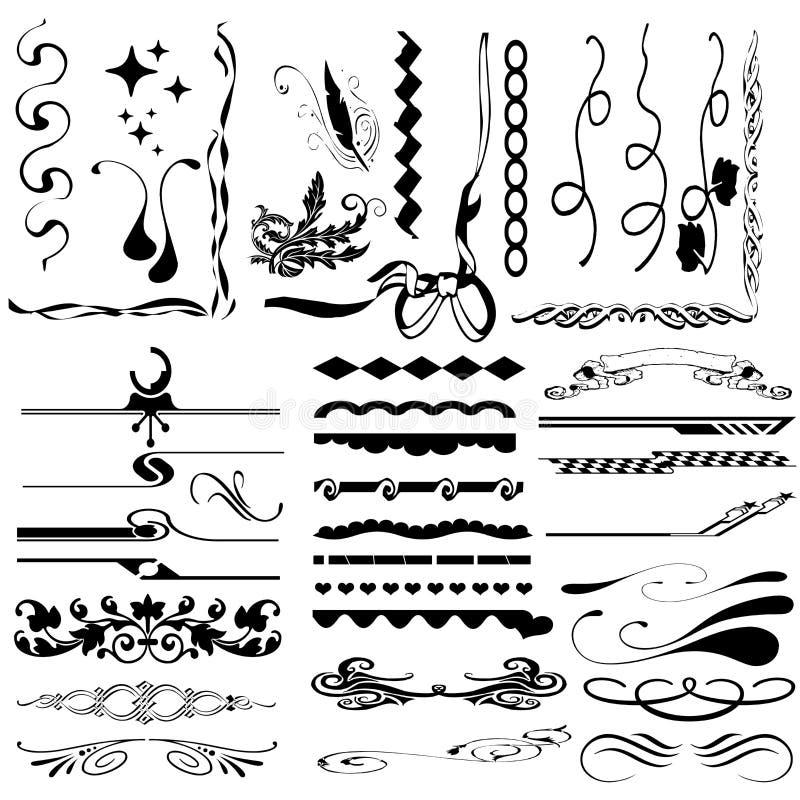 rabatowi elementy ilustracji