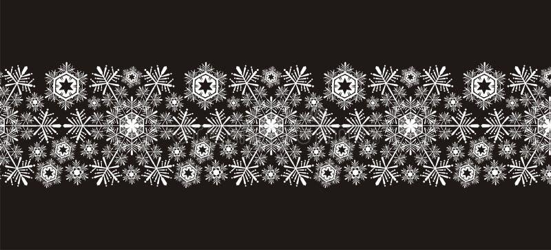 rabatowi płatek śniegu ilustracja wektor