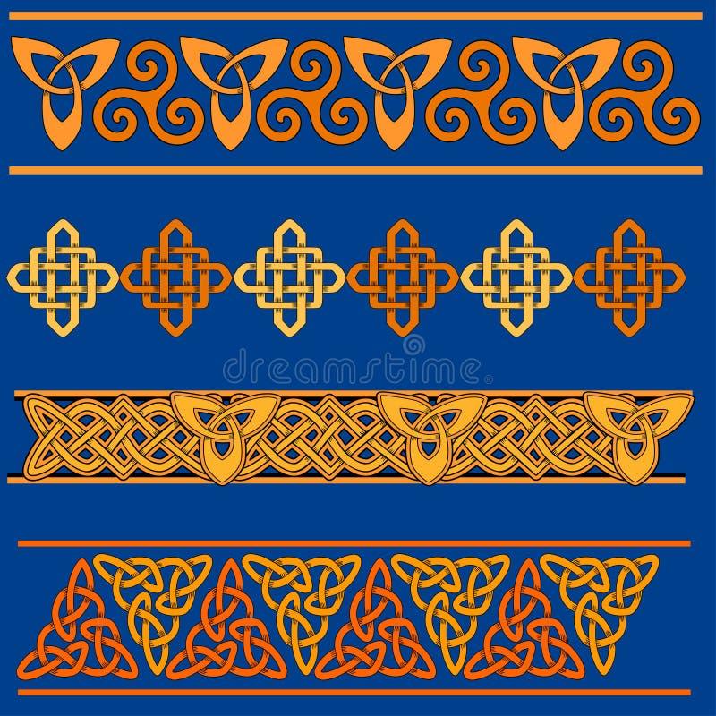 (1) rabatowy celt ilustracja wektor