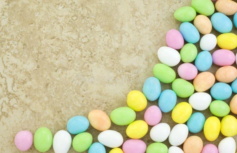 rabatowy cukierku Easter jajko obrazy royalty free
