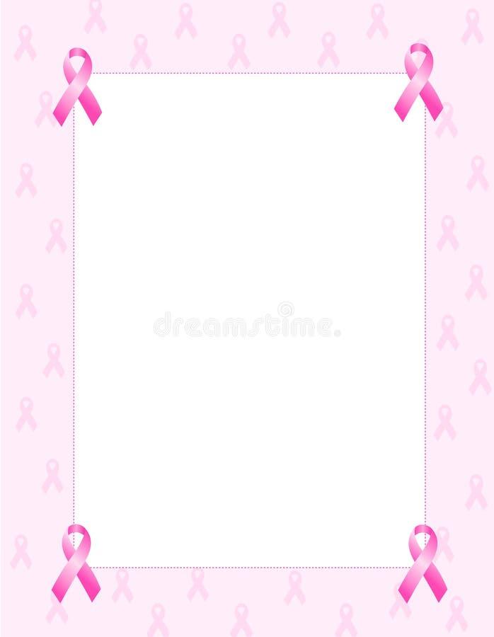 rabatowy różowy faborek ilustracji