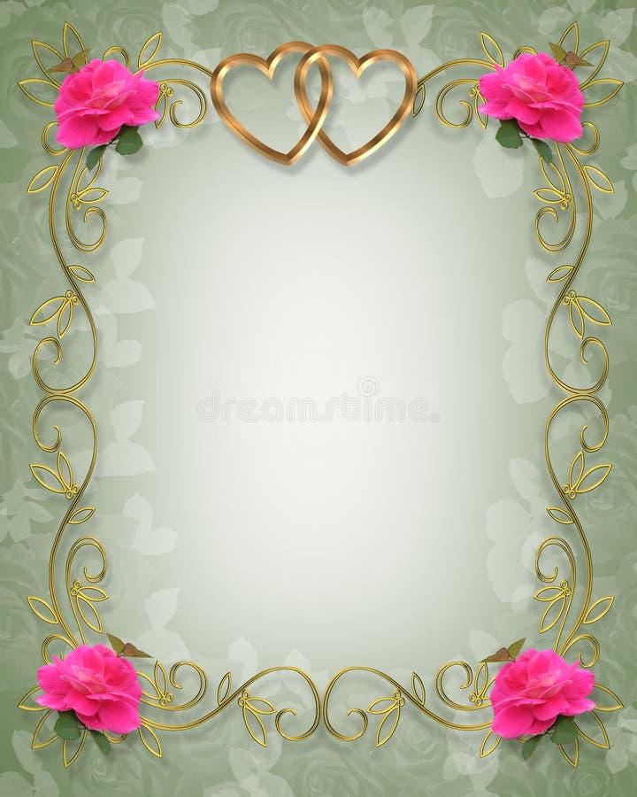 rabatowy różowy target1396_1_ róż ilustracji