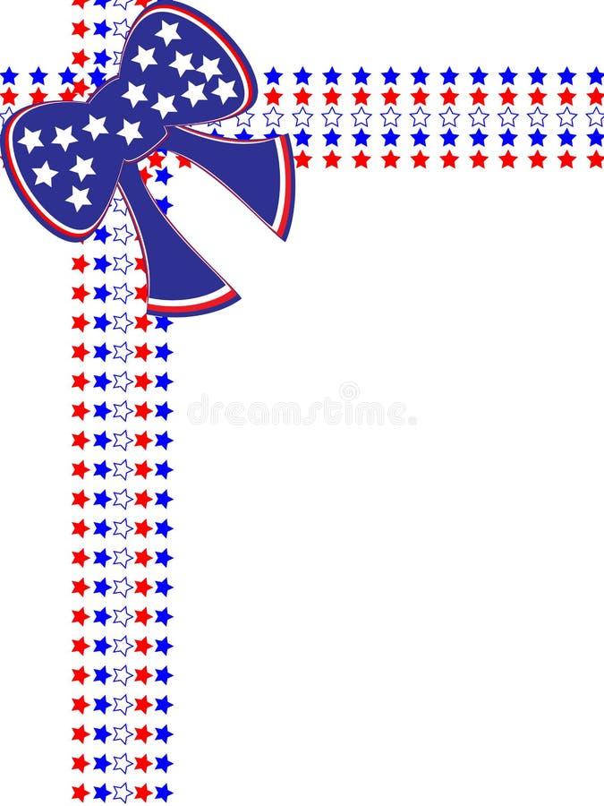 rabatowy ramowy patriotyczny royalty ilustracja