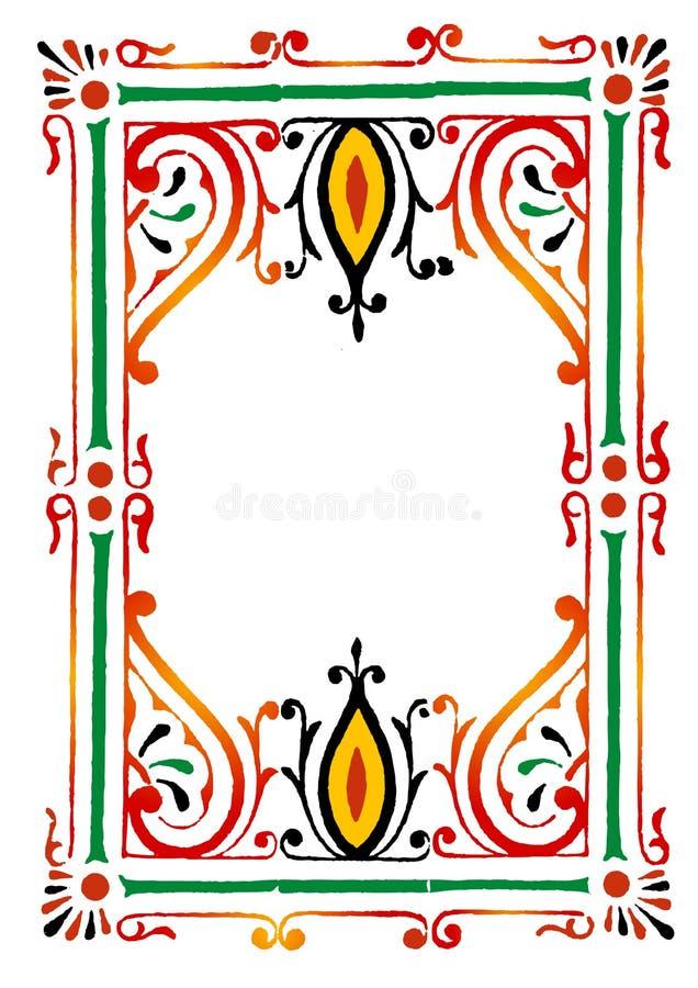 rabatowy rangoli zdjęcie royalty free