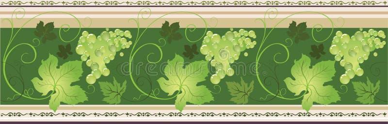 rabatowy winogrono ilustracja wektor