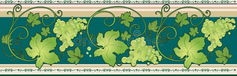 rabatowy winogrono royalty ilustracja