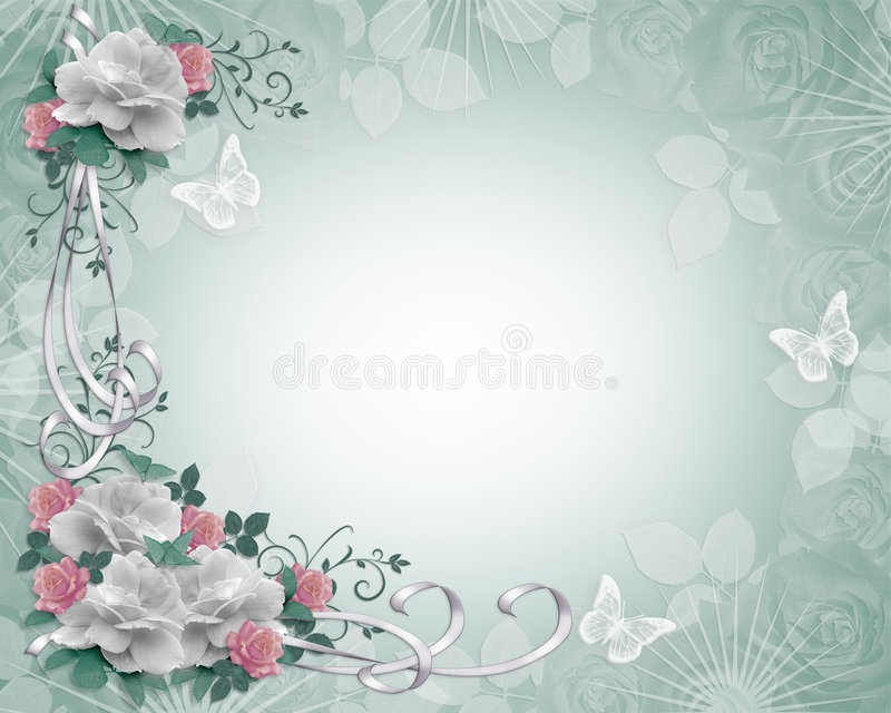 rabatowy zaproszenia róż target2234_1_ ilustracji