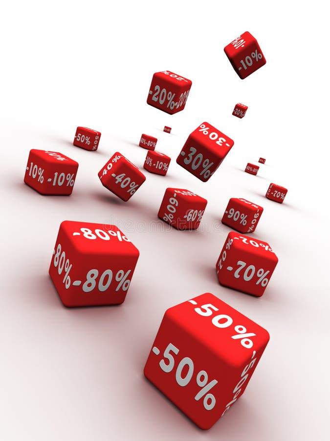Rabatt stock abbildung