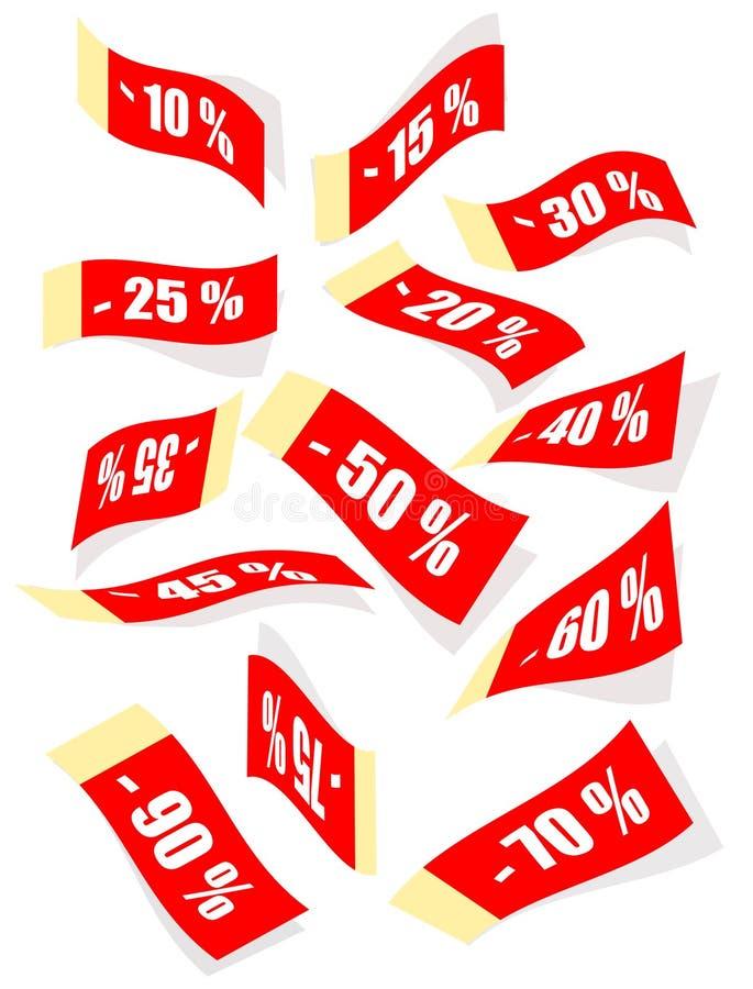 Rabatt. stock abbildung