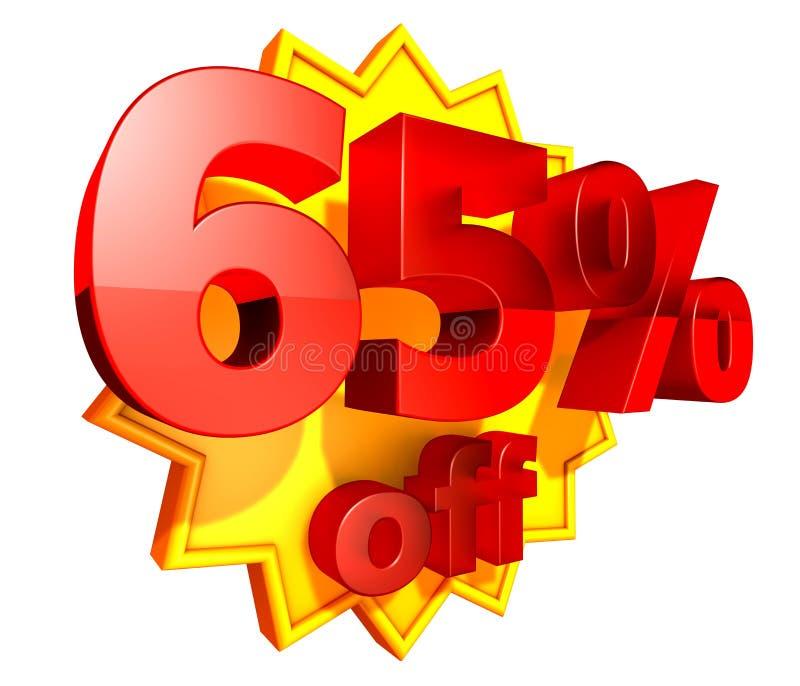 rabatt 65 av procentpris stock illustrationer