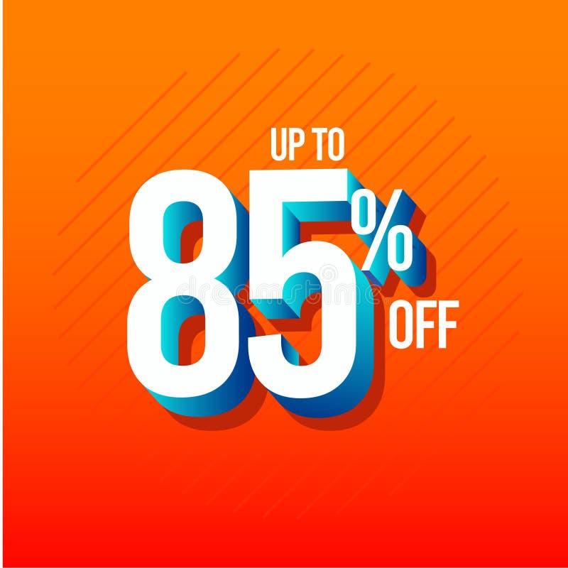 Rabatt upp till 85% av illustration f?r design f?r etikettvektormall royaltyfri illustrationer