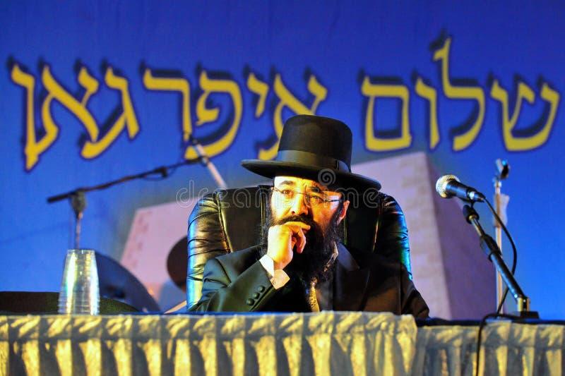 Rabbin Yaacov Israel Ifarga arkivfoto