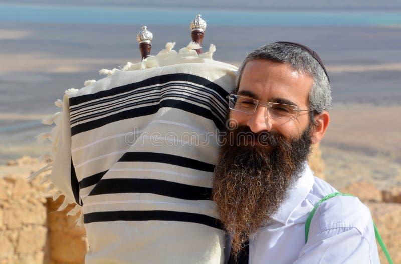 Rabbino dell'ebreo fotografie stock libere da diritti