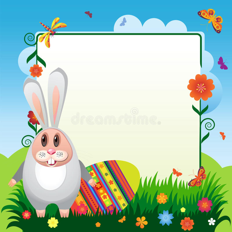 Download Rabbit-05 stock vector. Image of jewelry, card, family - 24059831