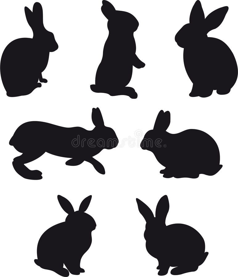Download Rabbit stock illustration. Image of image, jumping, agriculture - 12283380