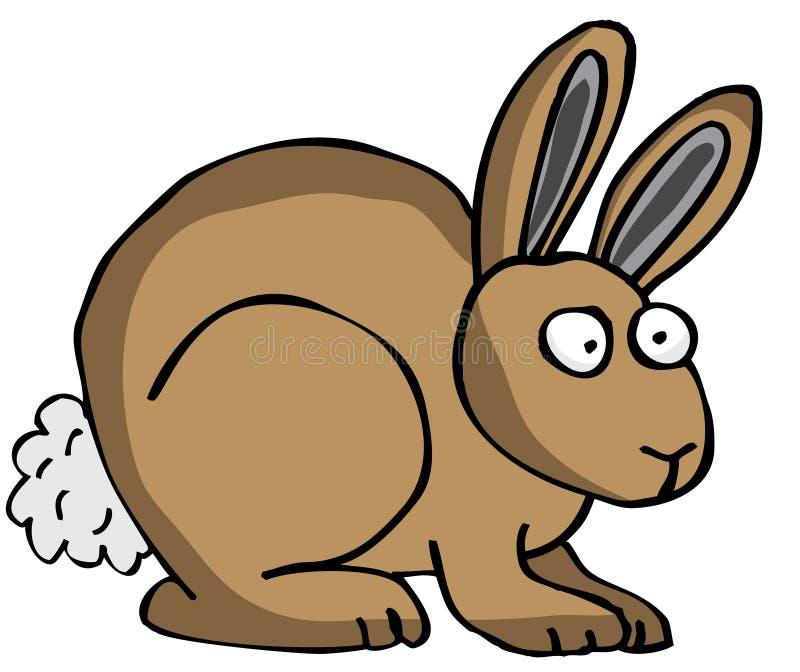Rabbit. Brown Rabbit also in vector format