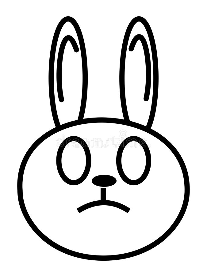 Rabbit royalty free illustration