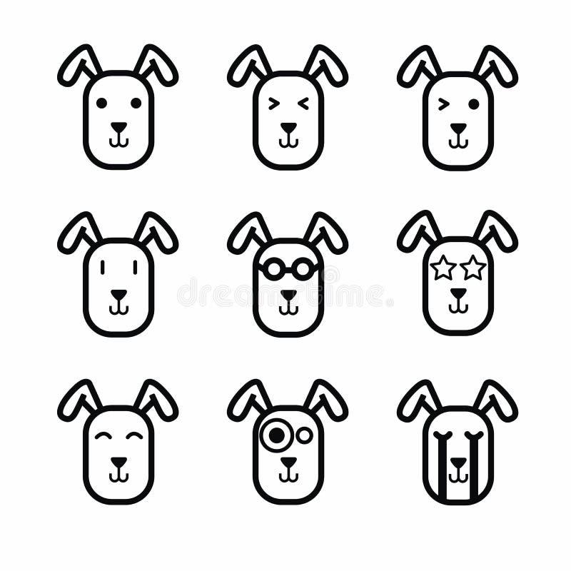 Rabbit Face Icon Vector Stock Vector Illustration Of Design