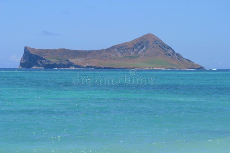 Rabbit Island Hawaii stock images