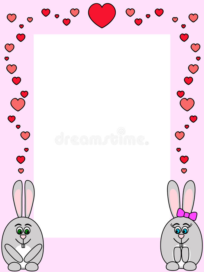 Rabbit Love Royalty Free Stock Images