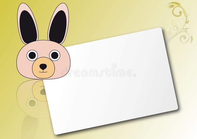 Download Rabbit sheet stock vector. Image of horizontal, white - 20668411
