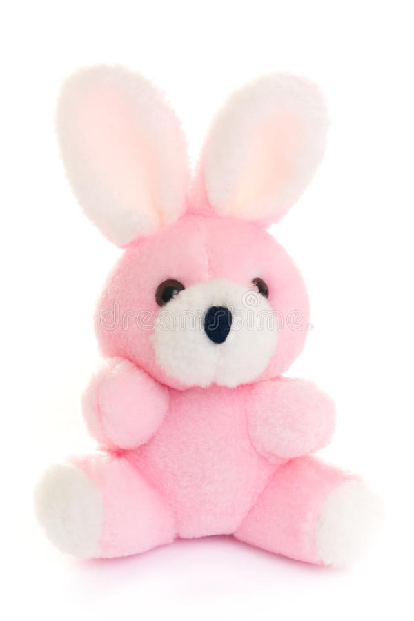 Download Rabbit toy stock photo. Image of fluffy, pink, animal - 11977888