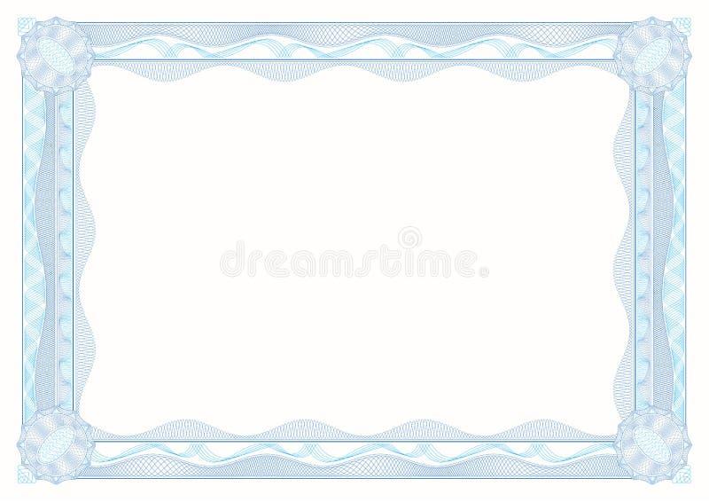 Rabescatura: blocco per grafici decorativo classico con le rosette illustrazione vettoriale