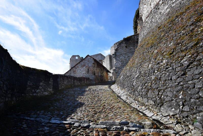 Rabi-Schloss, Tschechische Republik lizenzfreies stockfoto
