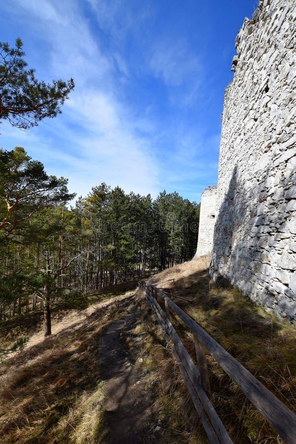 Rabi-Schloss, Tschechische Republik stockbild