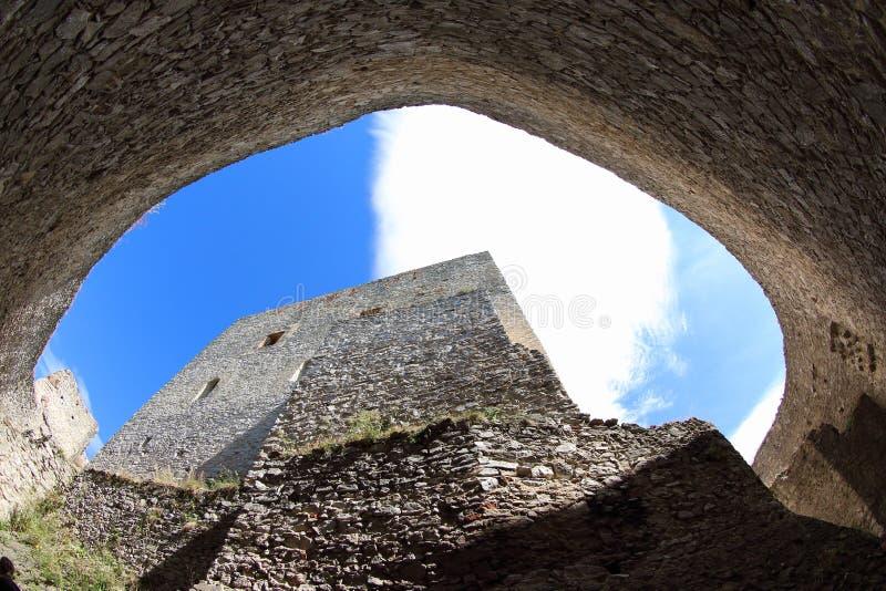 Rabi-Schloss, Tschechische Republik lizenzfreie stockfotografie