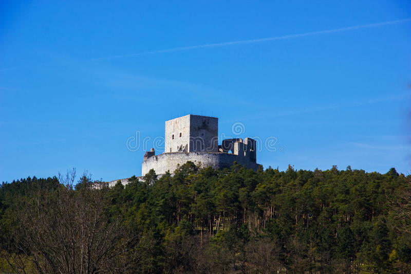 Rabi-Schloss, Tschechische Republik stockbilder