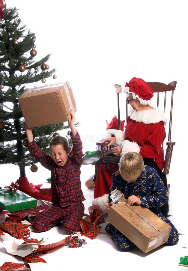 Rabieta de la Navidad imagenes de archivo