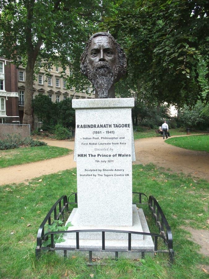 Rabindranath Tagore stock fotografie