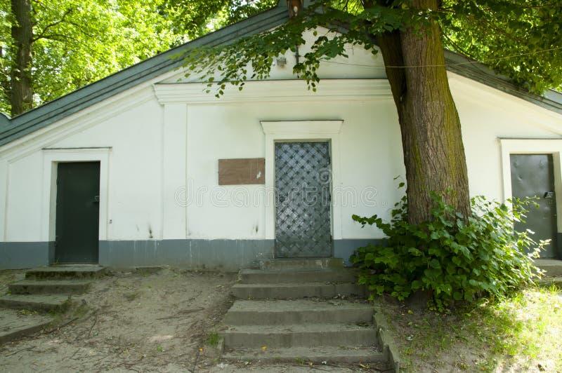 Rabino Elimelech Crypt - Lezajsk - Polônia foto de stock