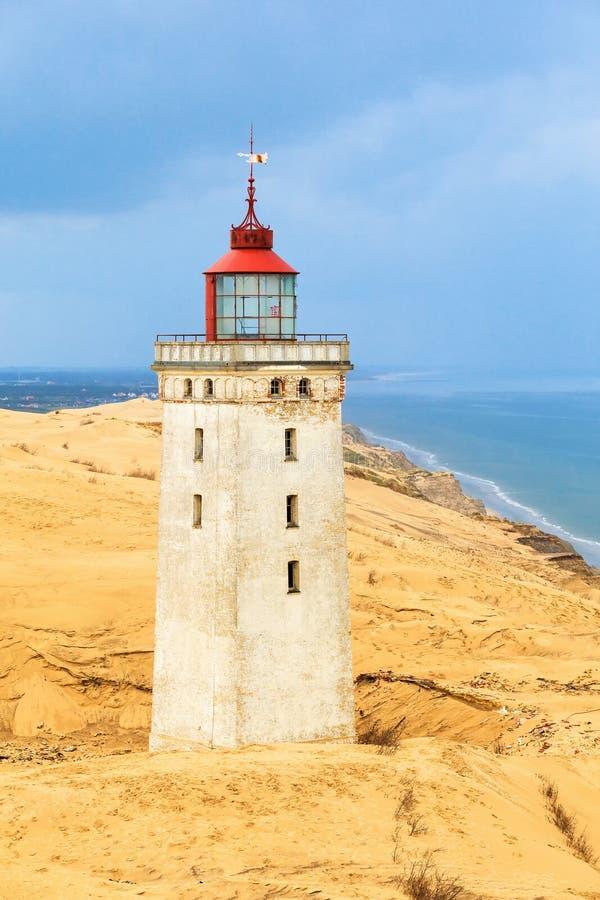 Rabjerg mila latarnia morska obrazy royalty free
