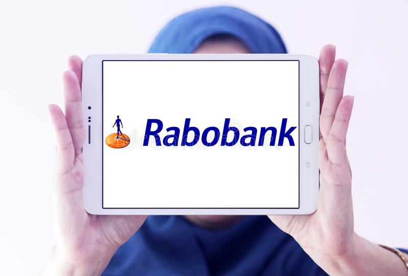Rabobank logo obraz stock