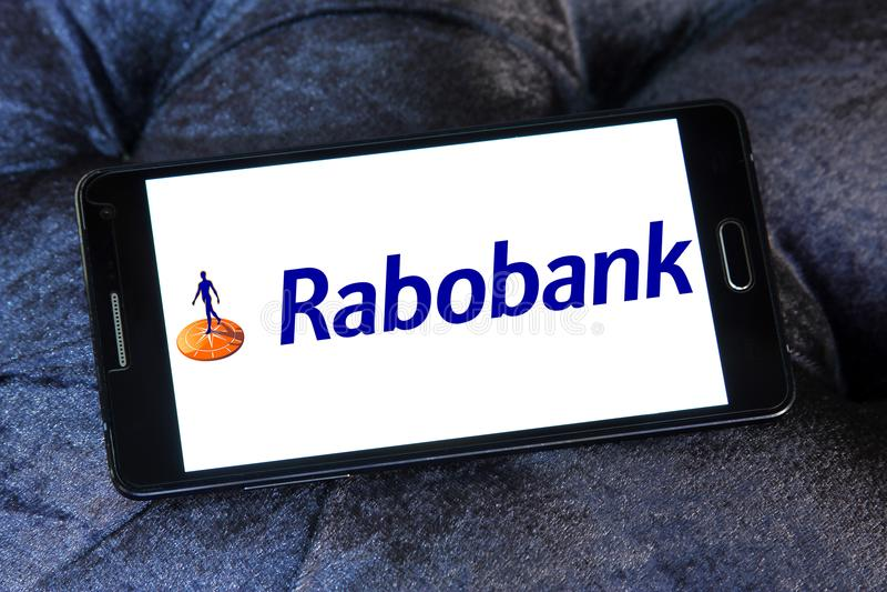 Rabobank logo zdjęcie stock