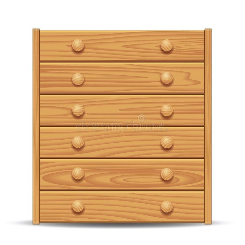 Raboteuse en bois illustration libre de droits