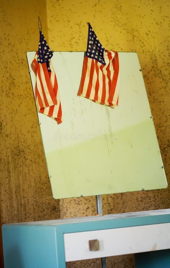 Raboteuse patriotique images stock