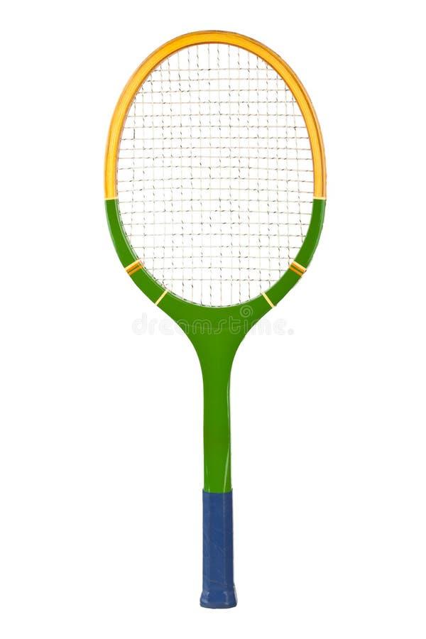 Racchetta di tennis fotografia stock