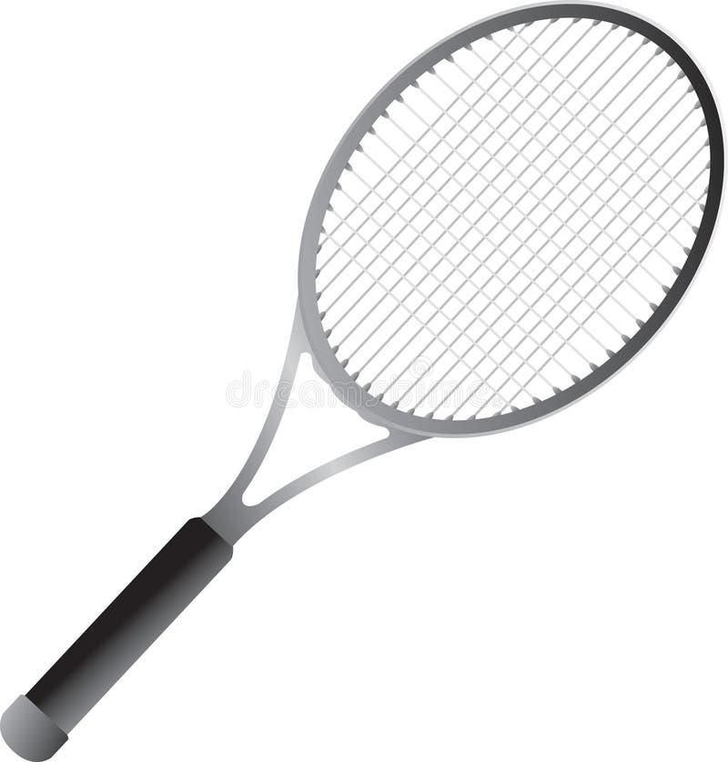 Racchetta di tennis isolata royalty illustrazione gratis