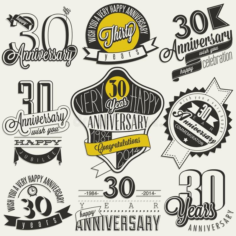 Raccolta d'annata di anniversario di stile 30