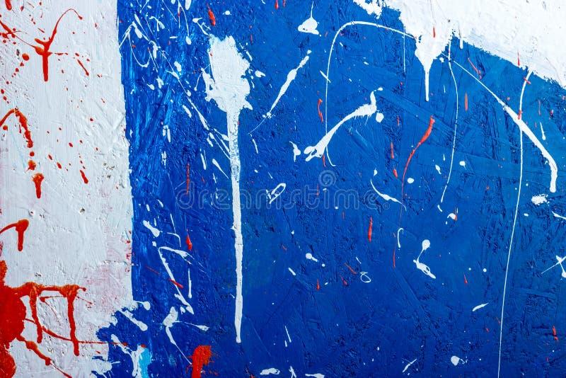Raccolta degli ambiti di provenienza - macchie e macchie di pittura fotografie stock libere da diritti