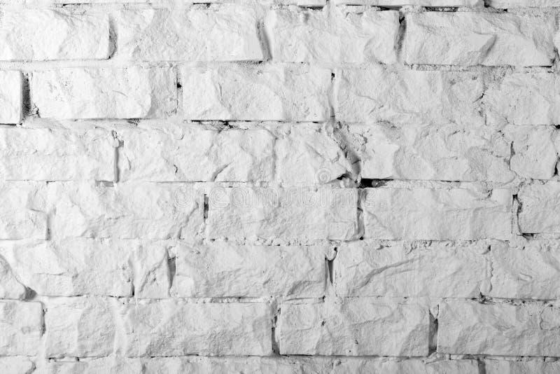Raccolta degli ambiti di provenienza - muro di mattoni bianco immagine stock