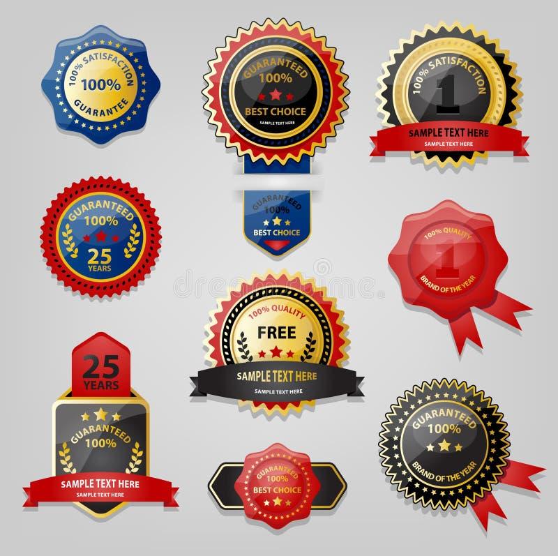 Raccolta del premio e della guarnizione royalty illustrazione gratis